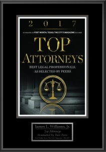 James L Williams Fort Worth Attorney