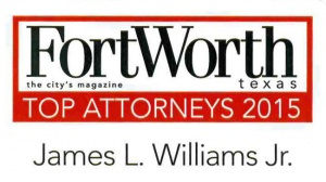 Fort Worth Magazine Top Attorneys 2015_